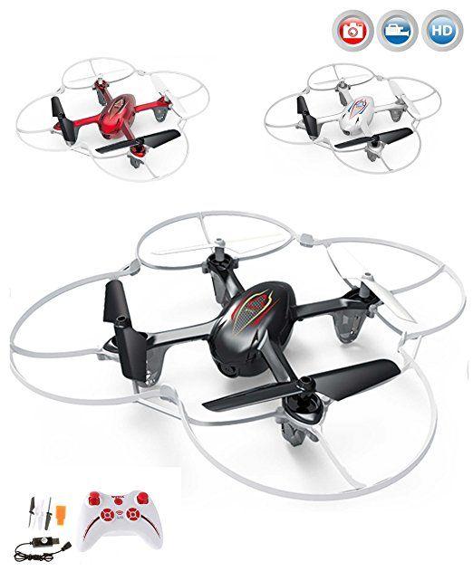 Quadrocopter X11C Pro HD Edition,4.5 Kanal RC ferngesteuerte Drohne mit HD Kamera, inkl. CRASH-KIT