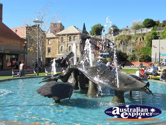 Salamanca Square, Hobart, Tasmania  #yankinaustralia #australia