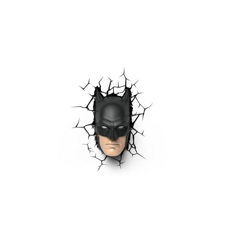 3D Light FX - Applique murale 3D Deco Light Masque Batman - 8719075221662