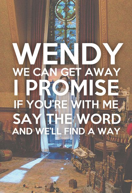 Somewhere in Neverland \ -All Time Low I want to be told these words only them being to a girl, me, Zoie.    Love.Zoie Schori