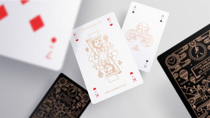 Ryder Cup Playing Cards | JOHNNIE WALKER on Behance