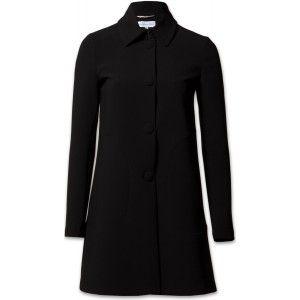 Patrizia Pepe 8S0082/AN99 Damen Mantel schwarz