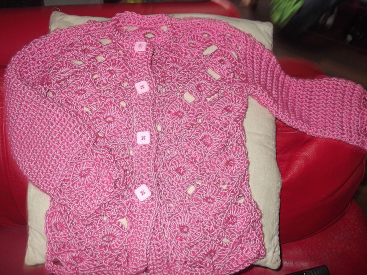 free style crochet cardigan