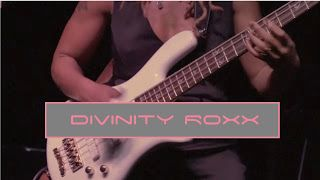 Divinity Roxx: Live in Columbus OH- Black Betty Solo   Divinity Roxx and band play a song from 'The Roxx Boxx Experience' album Black Betty originally written by Huddie Ledbetter and made famous by Ram Jam. Show was filmed by Rob Lee at Copious Notes in Columbus OH. Bass solo courtesy of Love Soul and Funk with a lil Prince mixed in. Granville Mullings Jr on Drums. Julian Litwack on Guitar. Be sure to catch us on The Dream Work Tour Live in a city near you. Go to http://ift.tt/2oLFVST to see…