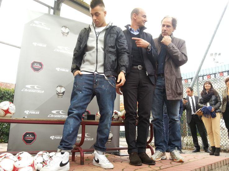 Stephan El Shaarawy all'A.S. Masseroni Marchese Milan Scuola Calcio