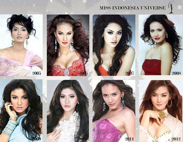 8 Miss In donesia Universe
