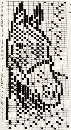 Bilderesultat for knitting chart kuvio