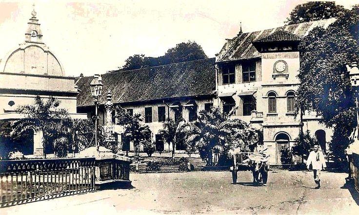 St. Francis Xavier Church c. 1936, Malacca.