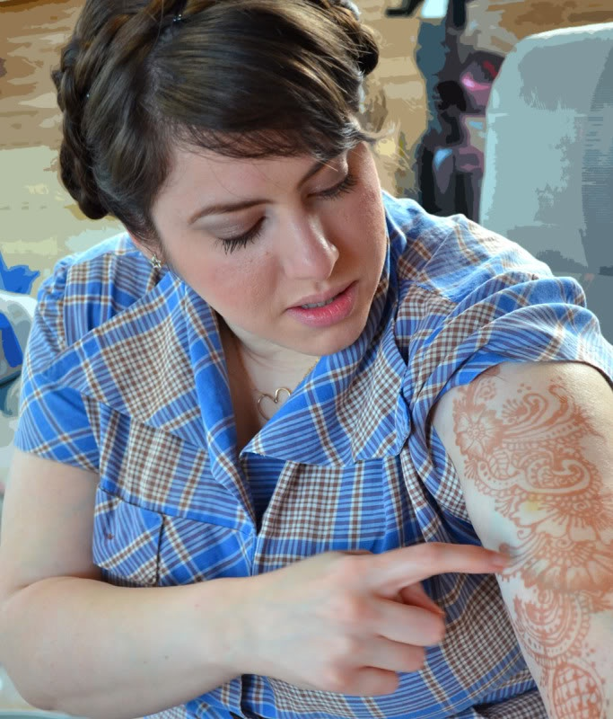 grrfeisty: body art - henna