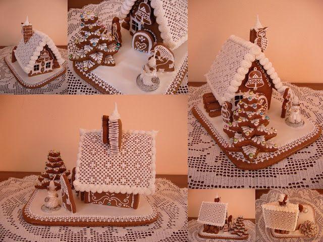 Chaloupka s vánočním stromečkem