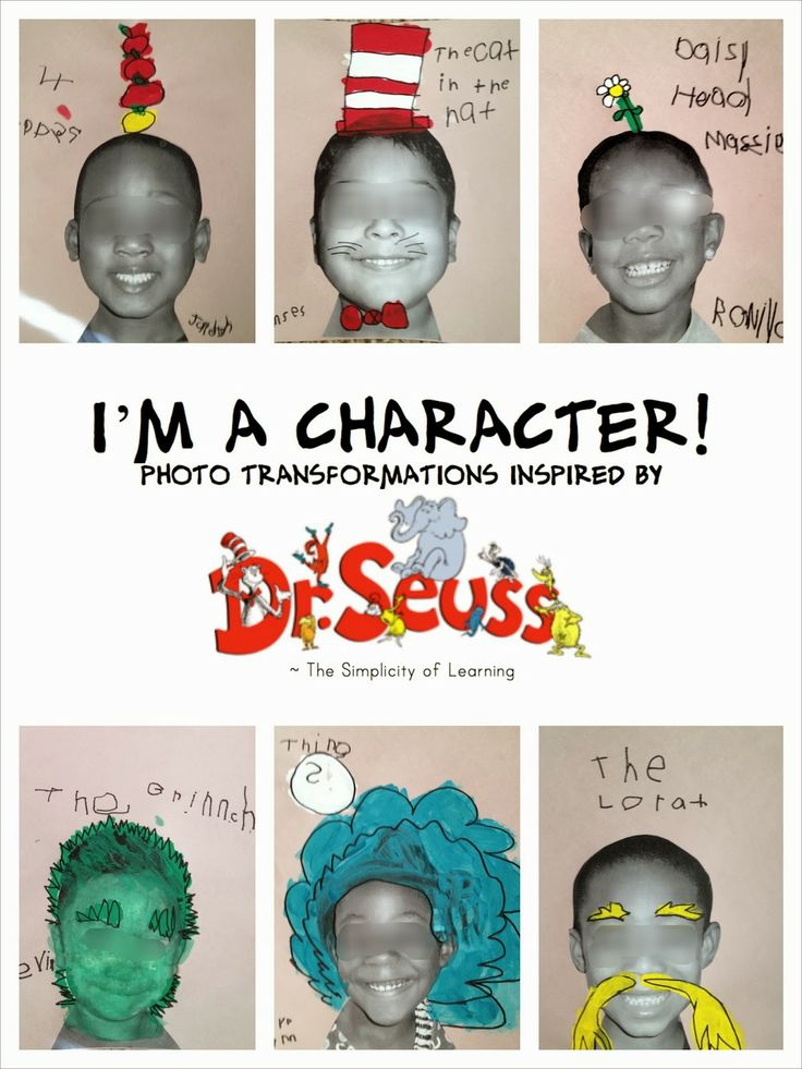 The Simplicity of Learning: Dr Seuss - kids transforming themselves into a Dr Seuss Character