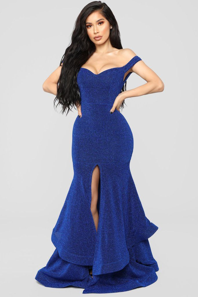 0fa7eb2e3d3 Round And Round You Go Dress - Royal in 2019 | Plus Size Clothing ...