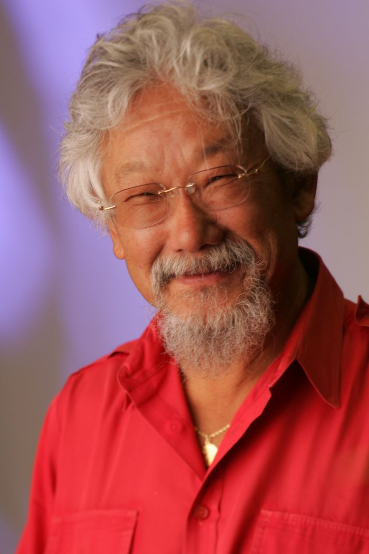 david suzuki As the founding host of cbc tv's suzuki on science and cbc radio's quirks  and quarks, and the face of the nature of things with david.
