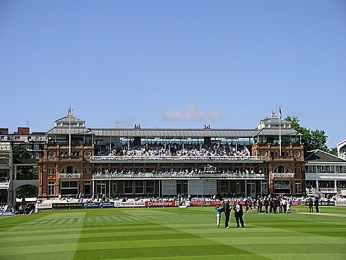 Grew up 400 yards from Lords Cricket Ground - went twice