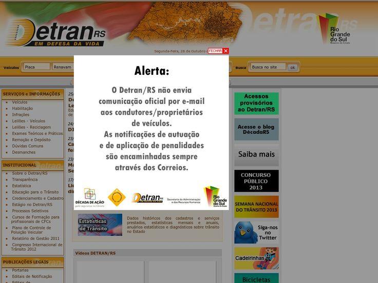 www.detran.rs.gov.br Entrar Agora - Pergunte Tecnologia