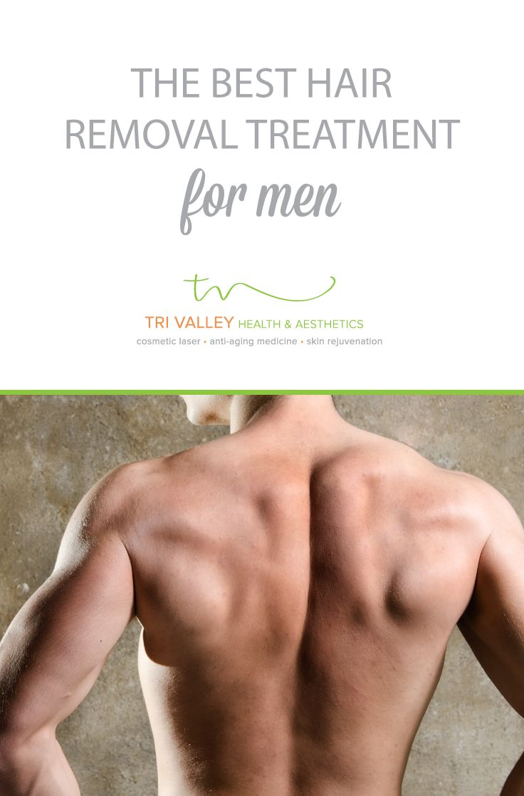 How many men out there are self-conscious about back hair? ✋ Give us a call to learn how laser hair removal can make this summer the best one yet!