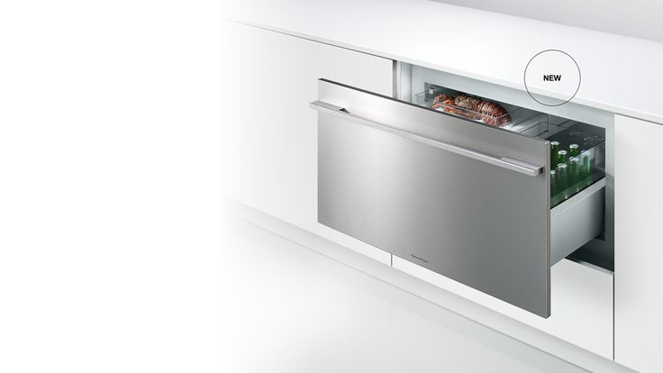 CoolDrawer™ - The Fisher & Paykel CoolDrawer™ has been designed to change from refrigerator to freezer at the touch of a button and can be placed anywhere in the home. The CoolDrawer™ provides five temperature settings to deliver total flexibility - freezer, chill, fridge, pantry and wine modes, merging intelligence with convenience.