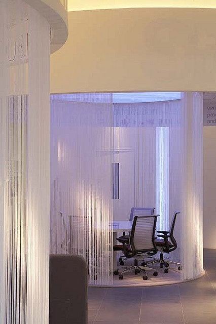 What a unique conference room! Wondering if you feel like being a part of a sci-fi movie when sitting in there?