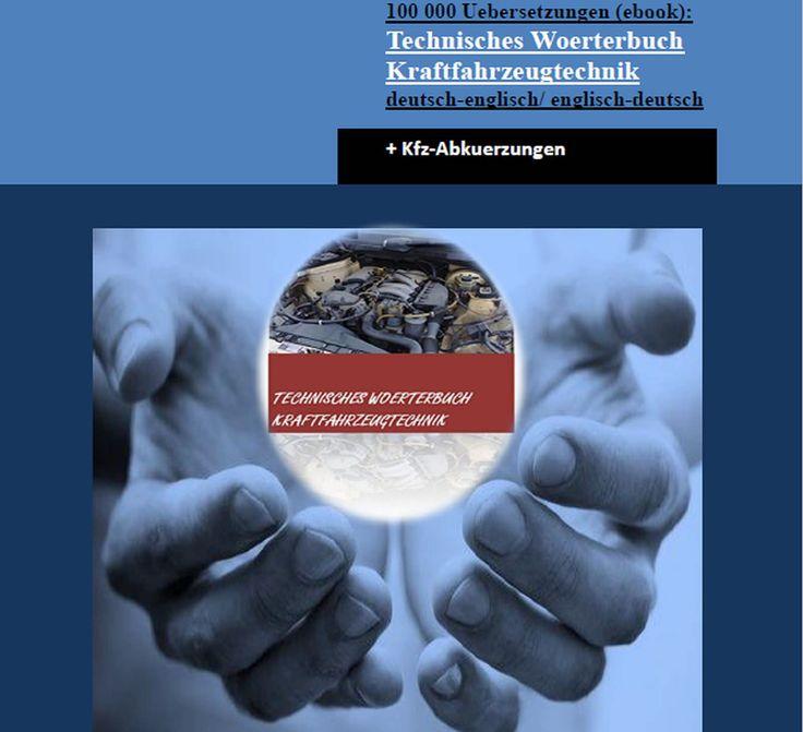 8 besten umfangreiches KFz-Woerterbuch deutsch-englisch/ englisch ...