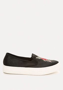 Embroidered Plimsolls from Bebe R590,00