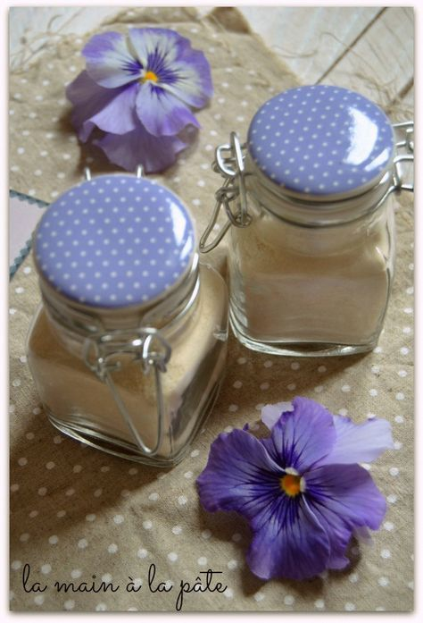 Poudre de caramel {étiquette-cadeau et carte recette imprimables} - La main à la pâte
