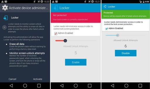 CompuTekni: Locker, el protector que necesitas para Android si quieres medidas extraordinarias