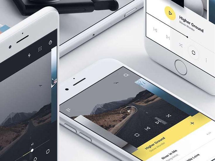 MNML - iOS UI Kit for Sketch