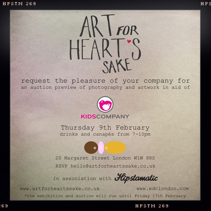art exhibition invites samples