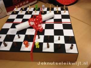 Sinterklaas surprise schaakbord