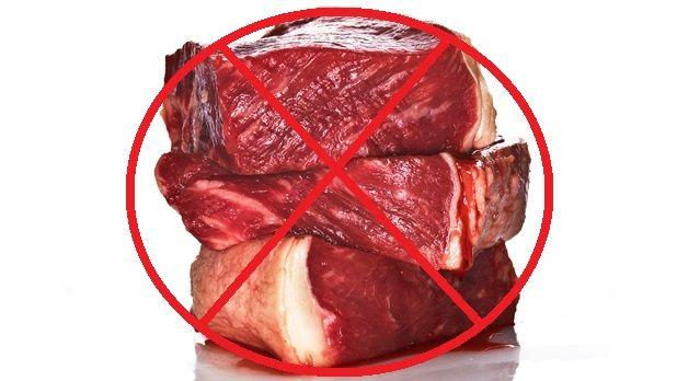 No red meat | Image source: Theinnerramblingsofme.wordpress.com