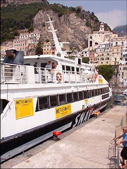 Ferry from Amalfi to Sorrento