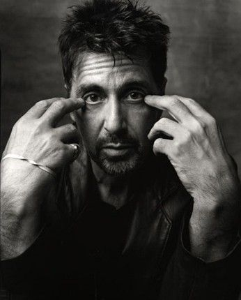 Al Pacino - I love the expressiveness of this shot