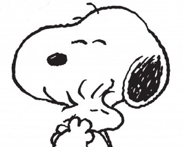222 best Snoopy Coloring Pages images on Pinterest Charlie brown
