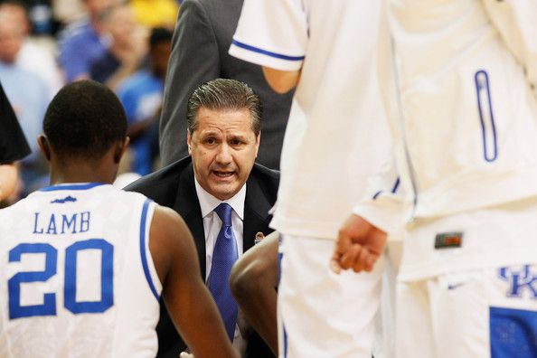 Doron Lamb and John Calipari Photos - Kentucky Basketball News Conference - Zimbio