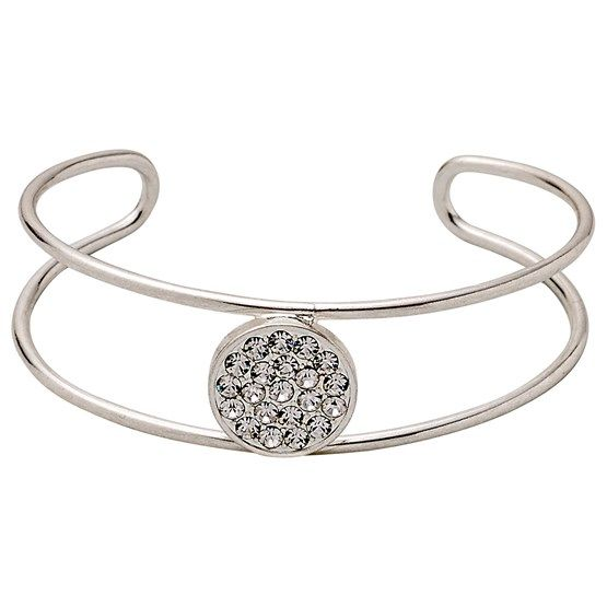Bracelet : Classic : Silver Plated : White