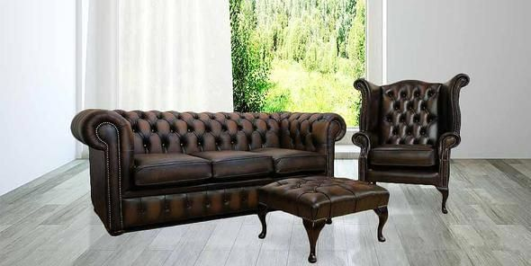 Marvelous Buy Brown Leather Sofa Chesterfield Suite Made In Uk Interior Design Ideas Oteneahmetsinanyavuzinfo