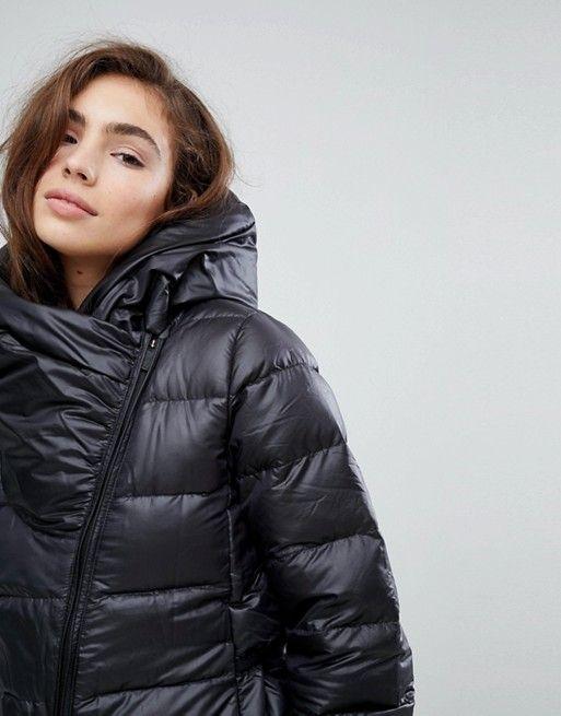 3e170ea14 Nike Down Filled Short Jacket With Asymmetric Zip | Down coat | Jackets,  Winter jackets, Outerwear women