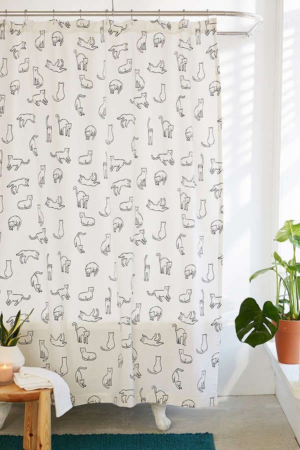 Cool Unique Shower Curtain Ideas For Small Bathroom Diy Boho Alternative Farmhouse Art Rod Cleaning Hacks Long Beach Floral White Rail