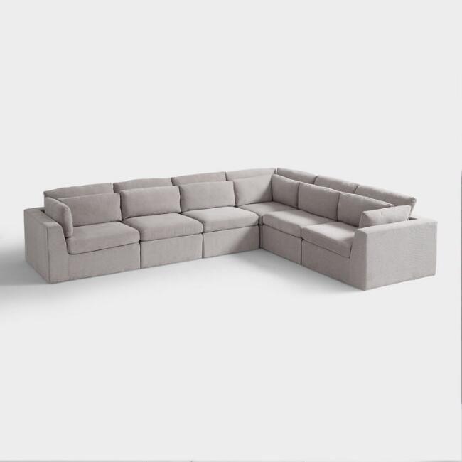 Emmett 6 Piece Modular Sectional Sofa Modular Sectional Sofa Modular Sectional Sectional Sofa