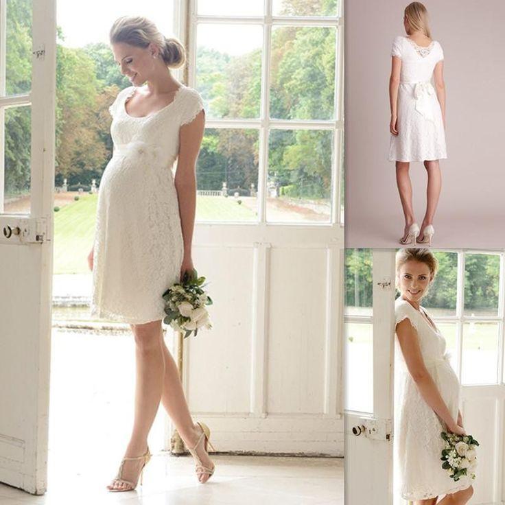78 Best Pregnant Women Wedding Dresses Images On Pinterest
