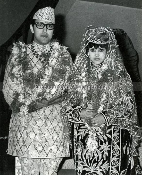 HM King Birendra and HM Queen Aishwarya