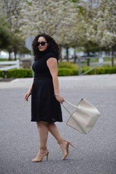 Wow-Looks für jede Figur: SO unterschiedlich kannst du ein schwarzes Kleid komb… – kleid
