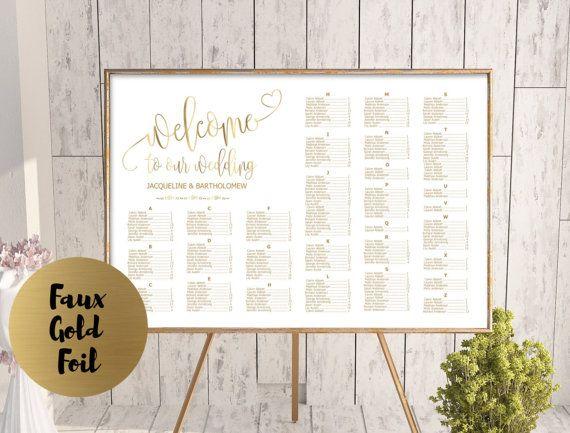 Best Weddings Images On Pinterest Wedding Invitation Design - Wedding invitation templates: seating chart template wedding