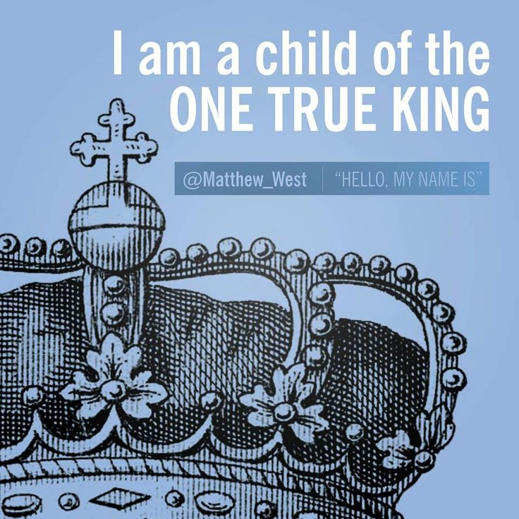Matthew West I AM A CHILD OF THE ONE TRUE KING