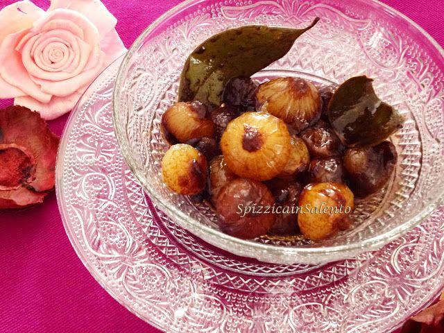 Spizzica in Salento...: Cipolline caramellate al Vincotto