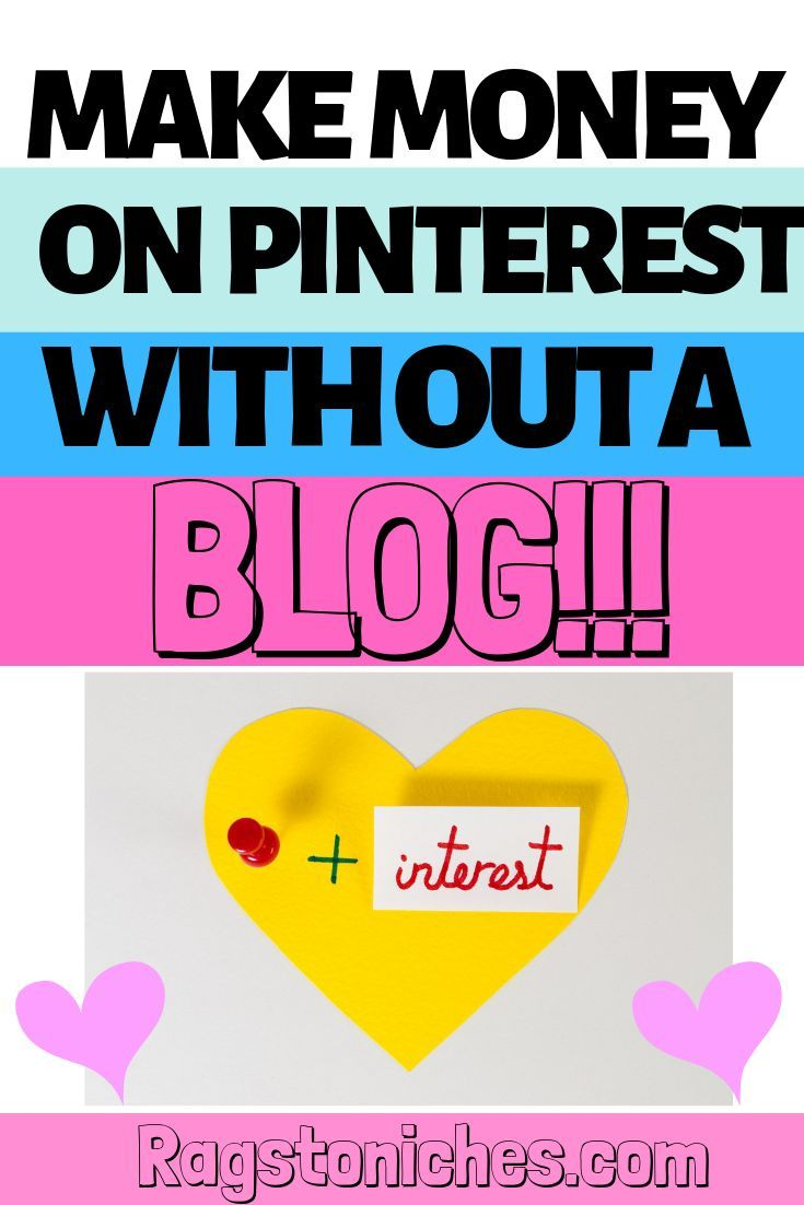 Pinterest Affiliate Marketing, (ohne Blog!) JA! JA WIRKLICH! – Lumpen in die Nische – Fun Ways To Make Money Online From Your Couch!