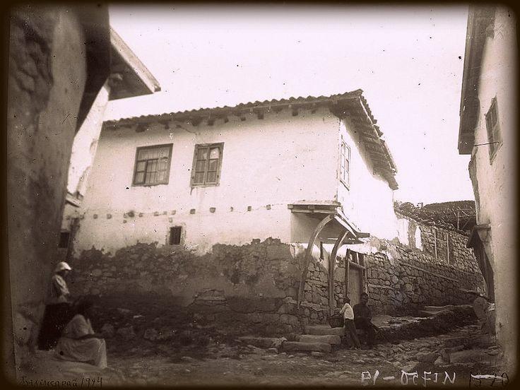 Tatar Crimea. Улочки Бахчисарая 1924г. (20 лет до Катастрофы)