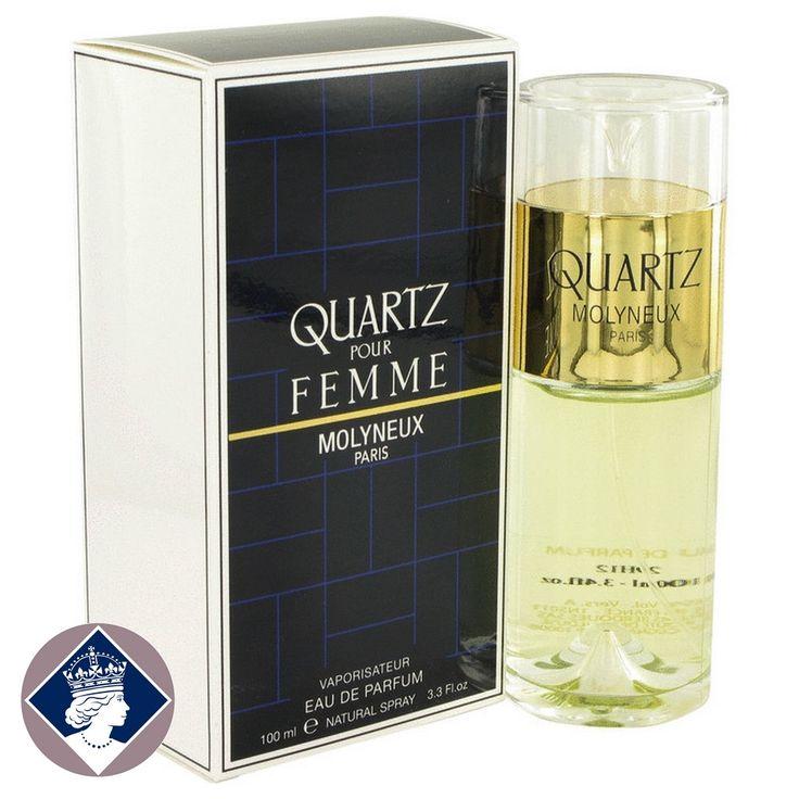 Molyneux Quartz Pour Femme 100ml/3.3oz Eau De Parfum EDP Perfume Spray for Her
