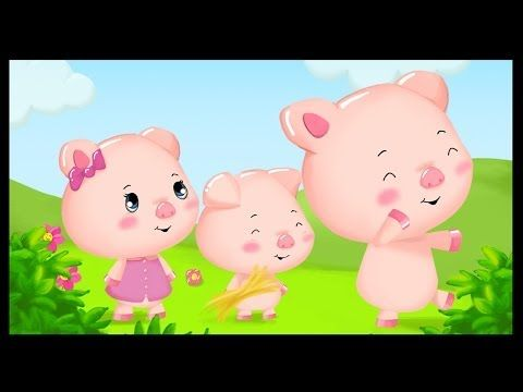 ▶ Les trois petits cochons - YouTube