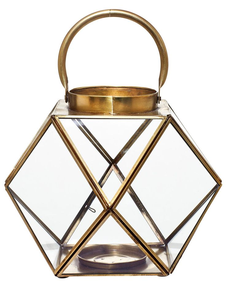 Lykta Rombi lantern. Indiska - 299 kr.